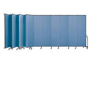 WALLmount Movable Walls - 13 Panels