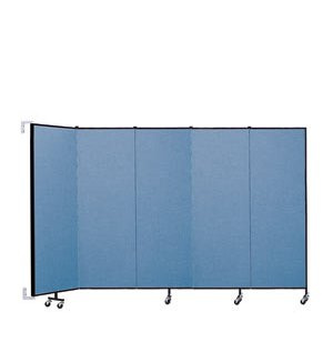 WALLmount Movable Wall - 5 Panels