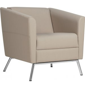 Wind Club Chair - Leather Upholstery