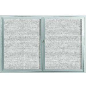 Weatherproof Illuminated Vinyl Board 2 Door