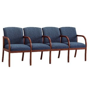 Weston 4-Seat Sofa with Center Arms