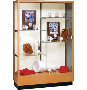 Heritage Trophy Cabinet in Hardwood