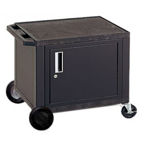Tuffy Cart with Cabinet and 8in Wheels