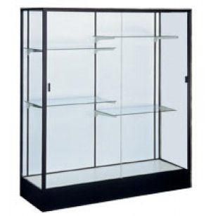 Colossus Floor Display Case w/ Plaque Fabric
