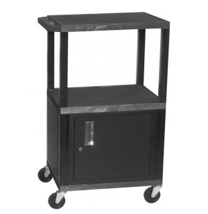 Tuffy Cart with Cabinet and Electric