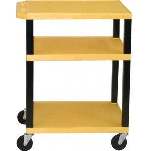 Open Shelf Colored Tuffy Cart