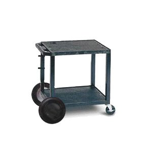 Open Shelf Tuffy Cart with 8