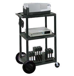 Open Shelf Tuffy Cart with 8