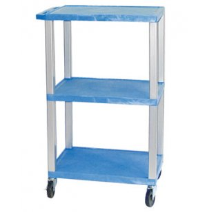 Open Shelf Colored Tuffy Cart with Electric