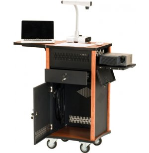 Wizard Multimedia Presentation Cart