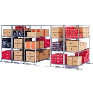 5 Section Sliding Shelf System