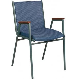 XLE Stacking Arm Chair w/2