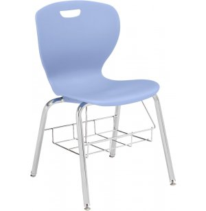 Zed Value School Chair with Bookbasket