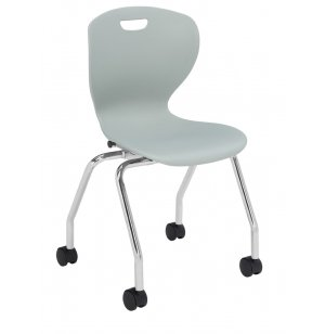 Zed School Chair with Casters