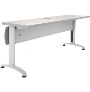 Z3 Table with Locking Curved Front Modesty Panel