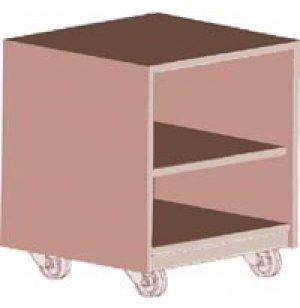 Ultima Modular Library Circulation Desk - Mobile Pedestal