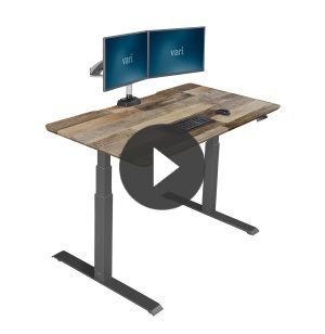 The Electric Standing Desk by Vari® VPA-6030S