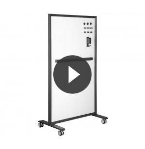 The Mobile Glass Board by Vari® VPB-4072