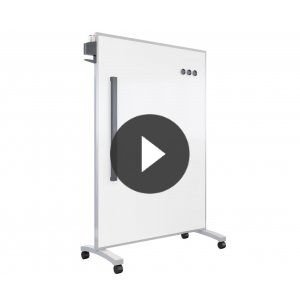 The Mobile Glass Board by Vari® VPB-4866