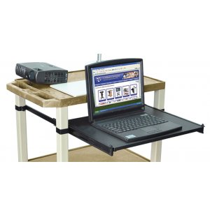 Keyboard Tray with Mousepad for Tuffy Carts