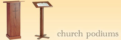 Church Pulpits Podiums Pulpit Furniture amp