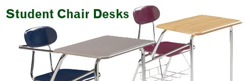 Chair And Desk Combo student chair desks, combo desks & tablet arm chair desks