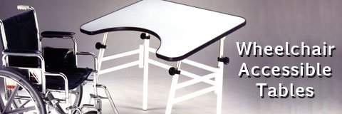 Wheelchair Accessible Tables Ada Compliant Tables