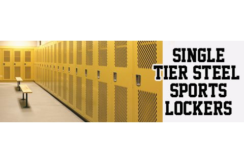 Penco Invincible II Single-Tier Steel Sports Lockers