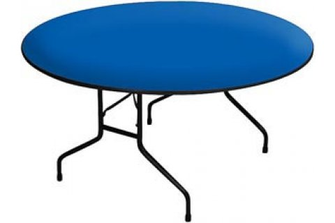Educational Color Round Folding Tables by Correll
