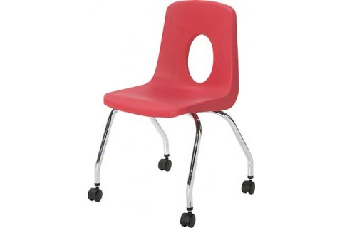 120 Series Poly Chair with Casters