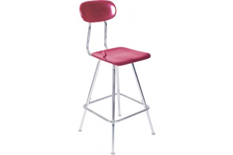 Academia Stools with Backrest