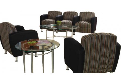 Accompany Metal Leg Reception Chairs