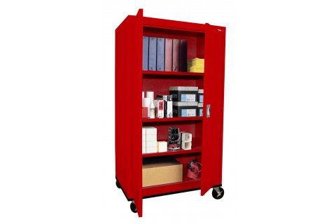 Colored Mobile Steel Storage Cabinets