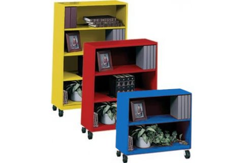 Mobile Steel Bookcases