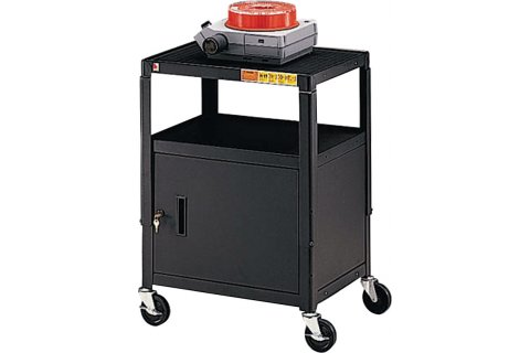 Steel Adjustable AV Cabinet Carts