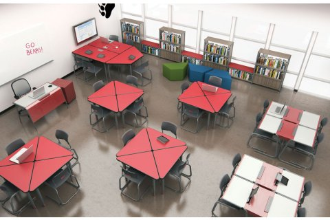 A&D Adjustable Activity Tables from Paragon