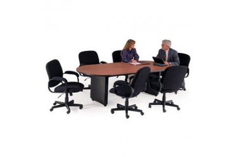Curved Plinth Base Conference Tables