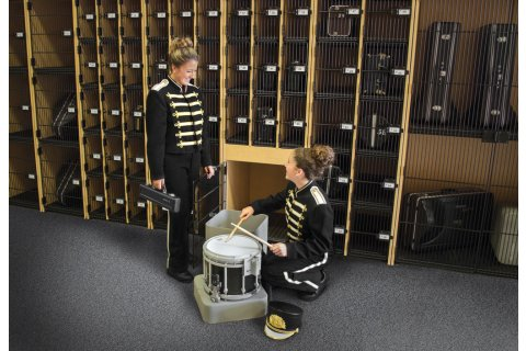 Superieur Band Stor Instrument Lockers With Grille Doors By Marco Group