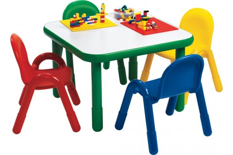 Baseline Preschool Activity Tables and Chairs