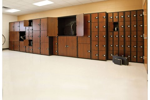 Beau Band Stor Instrument Lockers With Solid Doors By Marco Group