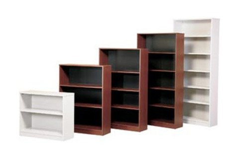 3MM Edge Banded Bookcases 1inch Core