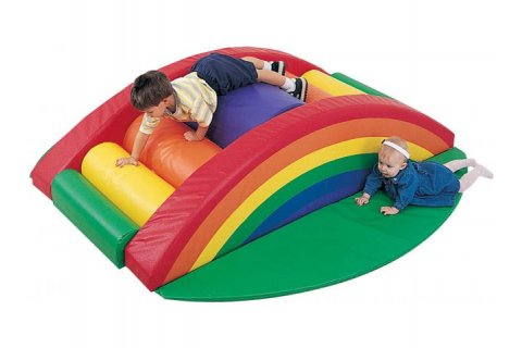 Soft Play Rainbow Arch Climber