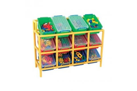 Multi-Bin Plastic Storage  sc 1 st  Hertz Furniture & Multi-Bin Plastic Storage Preschool Cubbies