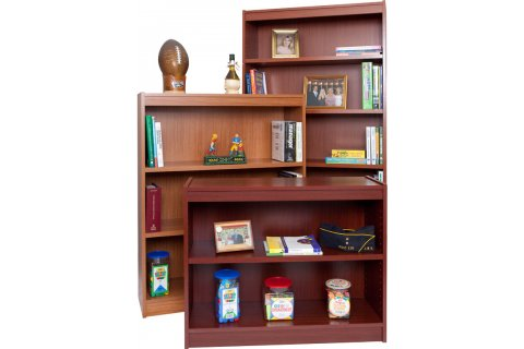Contemporary Veneer Bookcases