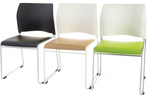 Cafetorium Stacking Chairs and Bar Stools by NPS