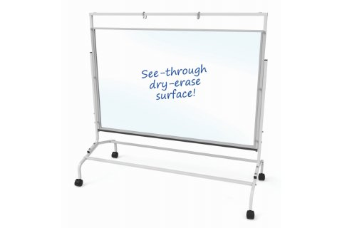 Clear Dry-Erase Room Dividers by Copernicus