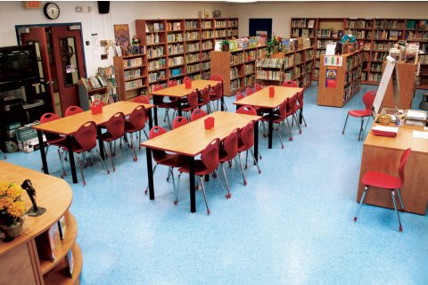 Laminate School Library Furniture