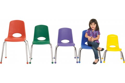 ECR4Kids Classroom Stacking Chairs