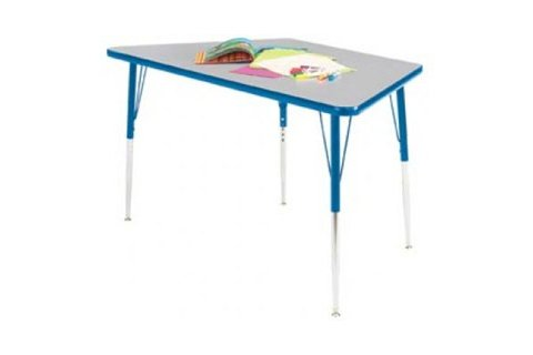 Educational Edge Trapezoid Activity Tables
