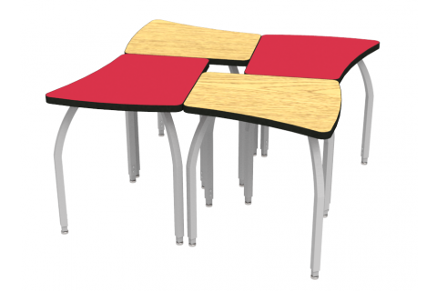 ELO Collaborative School Desks by WB Manufacturing